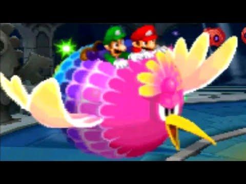 Mario & Luigi: Dream Team - All Bros. Attacks & Luiginary Attacks (Excellent Rating)