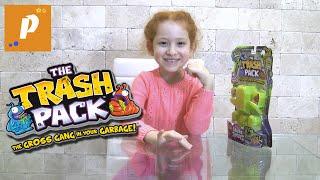 Распаковка трэш пеки - монстрики, набор из 12 штук Unboxing trash pack toys