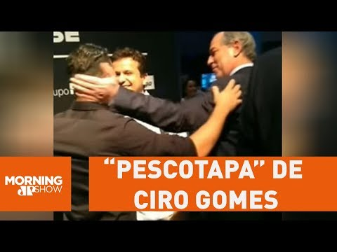 """Assista: Arthur do Val leva """"pescotapa"""" de Ciro Gomes"""