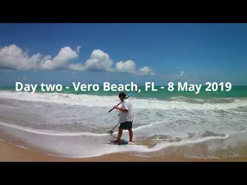 Metal Detecting the Florida Treasure Coast - 7-9 May 2019