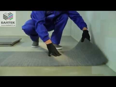 Укладка ковровой плитки  Особенности монтажа ковровой плитки