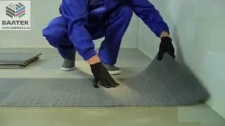 видео Ковровое покрытие плиткой