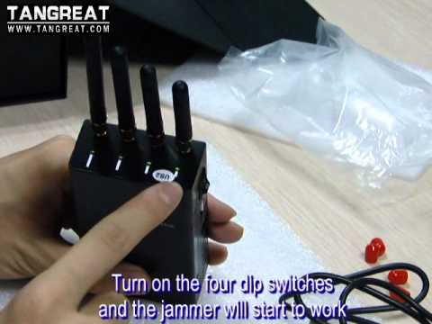 Portable cellphone jammer,GPS jammer, WIFI jammer, Bug Jamme