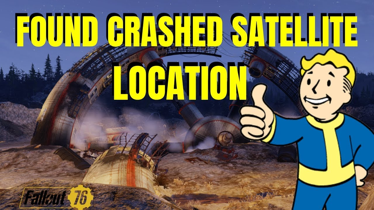 Fallout 76 - CRASHED SPACE STATION FOUND + GAME DISCUSSION WITH FRIENDS