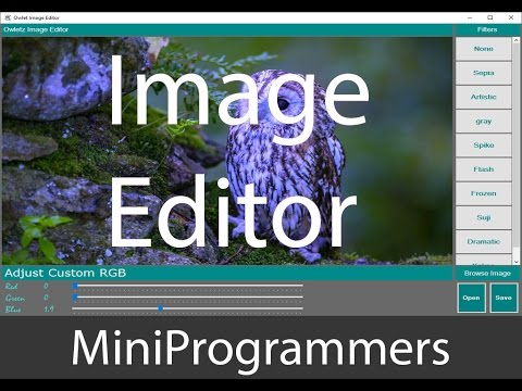 How To Make An Image Editor In C#