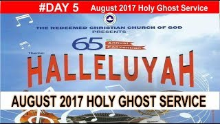 AUGUST 2017- RCCG HOLY GHOST CONVENTION SERVICE