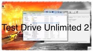 Test Drive Unlimited 2 - Unpacking & Launching [deutsch - german]