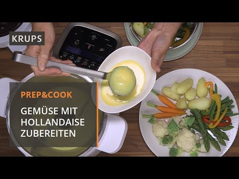 hp-5031-krups-prep-&-cook---rezept---gemüse-mit-sauce-hollandaise