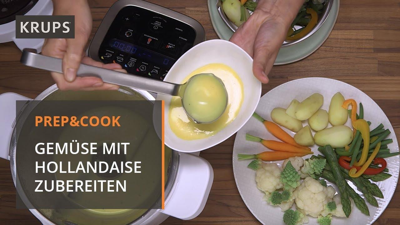 HP 5031 Krups Prep & Cook - Rezept - Gemüse mit Sauce Hollandaise ...