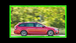 Skoda Octavia vRS review – pace, space and value from Skoda's Golf GTI equivalent