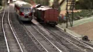 Modelleisenbahn Spur 0 im Freizeitpark Gut Eversum