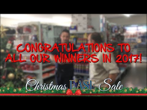 2017 Christmas EASE Sale - Prize Winners