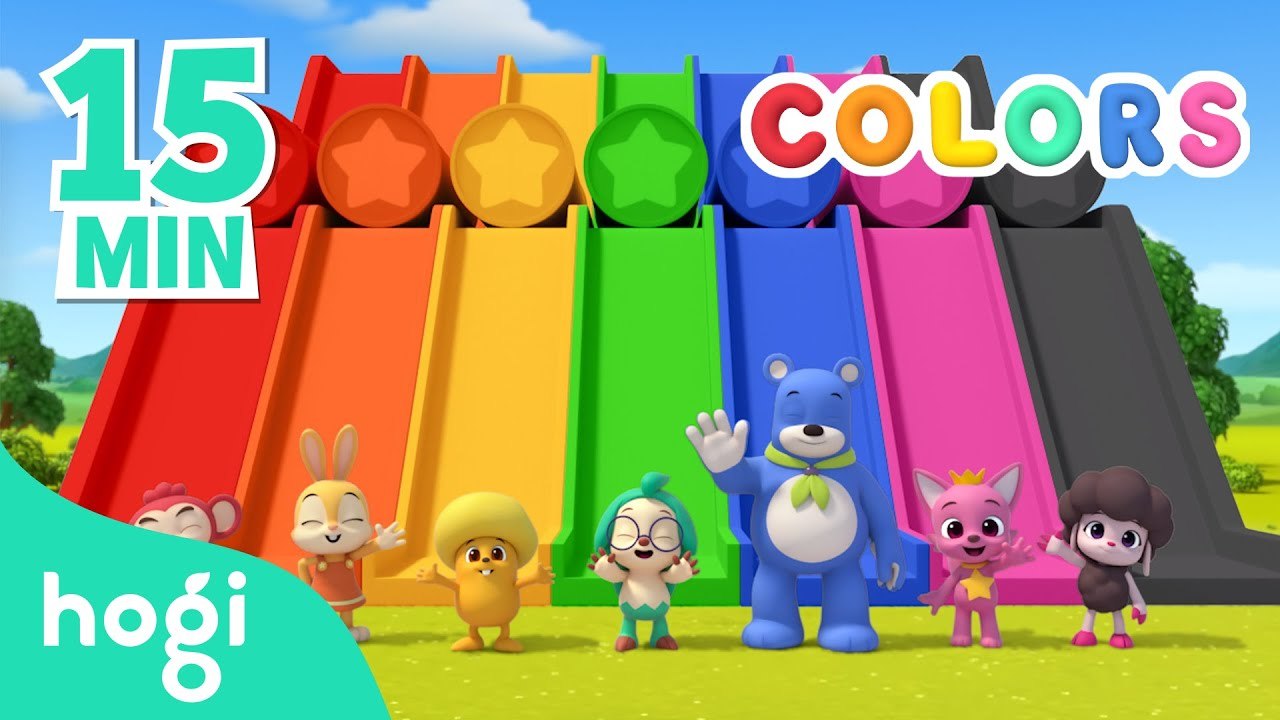Download Learn Colors with Hogi's Friends | 15min | Pinkfong & Hogi | Colors for Kids | Learn with Hogi