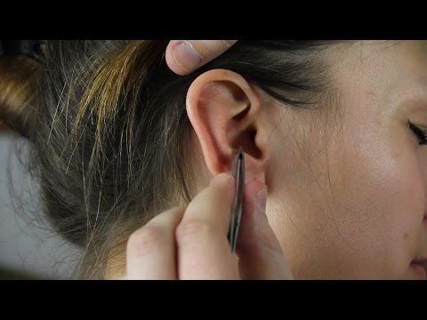 ASMR REAL PERSON Ear Cleaning / Massage For The Lady *Awesome Sounds*