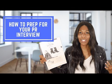 5 Things You Should Know Before Your PR Interview