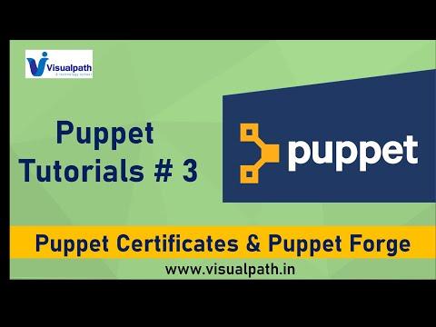 #3 Puppet Certificates & Puppet Forge | Puppet Tutorials | DevOps Tools | Visualpath