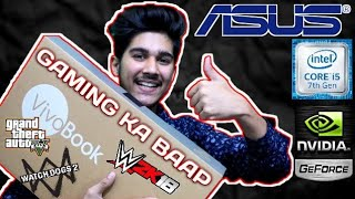 The Best Budget Gaming Laptop | ASUS R542U Vivo Book | Unboxing Must Watch 2018 (HINDI)