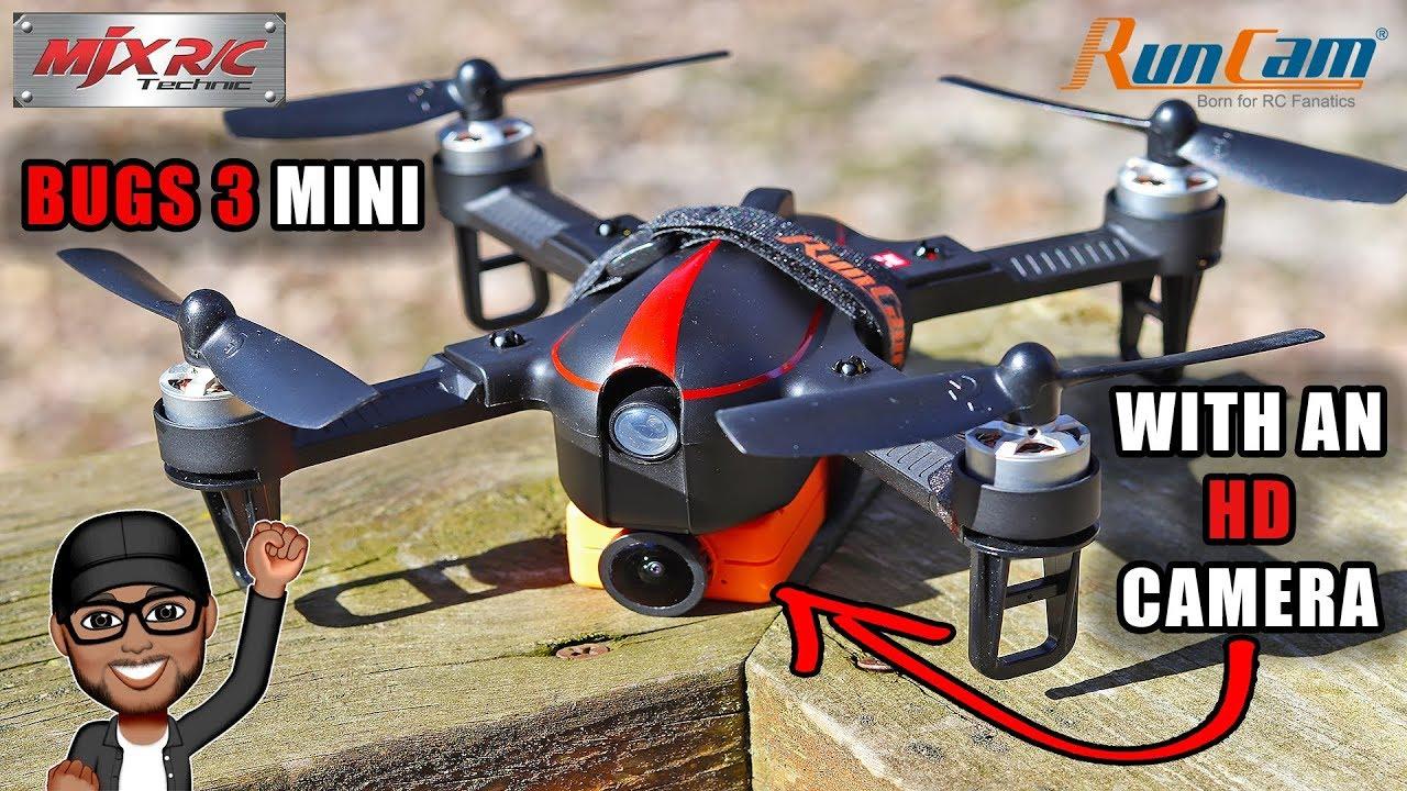 mjx bugs 3 mini  MJX Bugs 3 MINI with Runcam HD Footage and Speed!! - YouTube