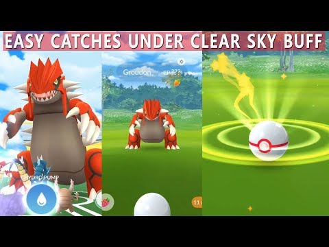 Download Youtube: New Groudon Raid in Pokemon Go! How to Critical Catch Groudon?