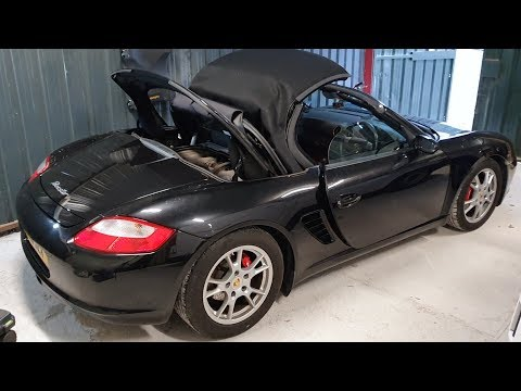 How To Put Your Porsche Boxster Into SERVICE MODE - Engine Access.