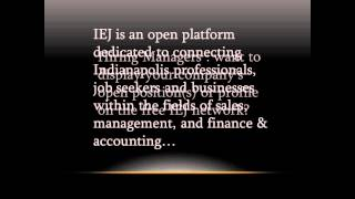 Indy Executive Jobs - FREE resource for job postings and company profile