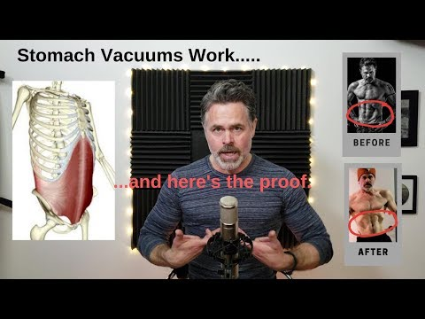 Stomach Vacuum Training Works...I Have Proof.