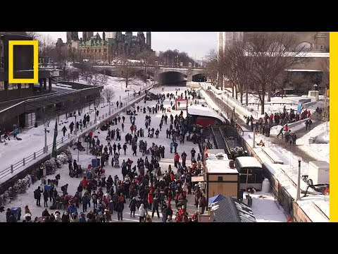 Ottawa's Rideau Canal is the World's Largest Ice Rink | National Geographic