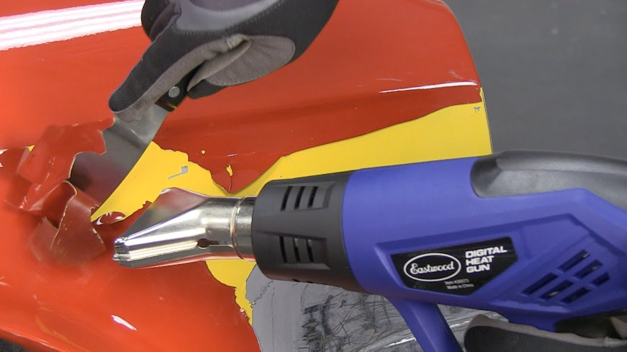Digital heat gun remove paint roll fenders with ease for Heat gun to remove paint