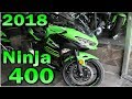 Kawasaki Ninja 400 2018 Mini Review  y  ZX6 R , ZX10 R H2 Carbon