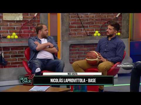 Nicolás Laprovittola visitó el piso de REPECHAJE