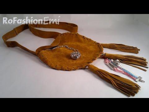 Tutorial Ro Fashion - Cum sa faci o poseta din piele DIY