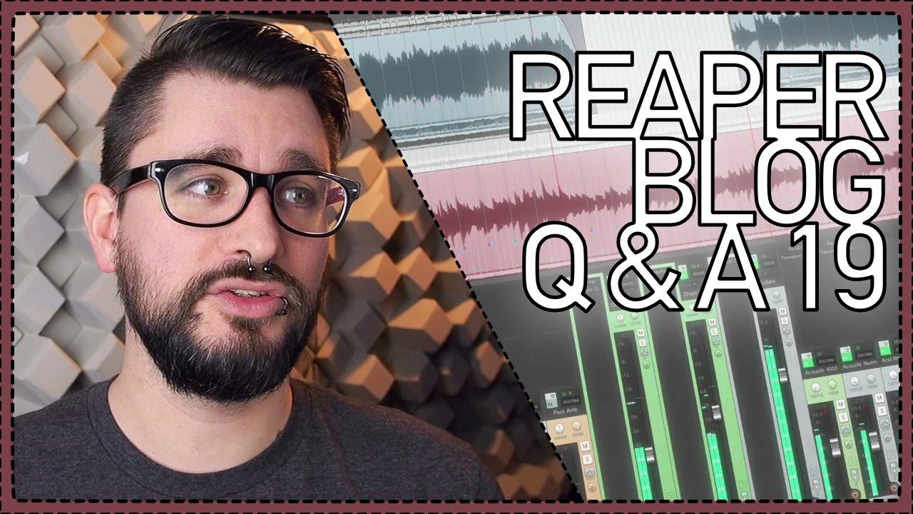 The REAPER Blog Q&A #19 - noisy recording