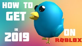 How to get Twitter Bird in ROBLOX (2019)