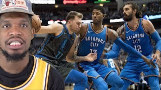 WELP.. IT WAS BOUND TO HAPPEN.. THUNDER vs MAVS HIGHLIGHTS