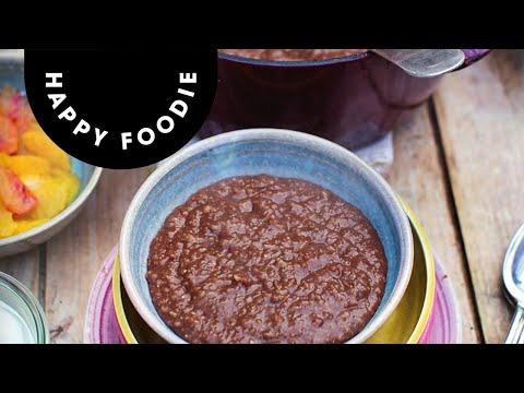 Jamie Oliver's Chocolate Porridge | Super Food Family Classics