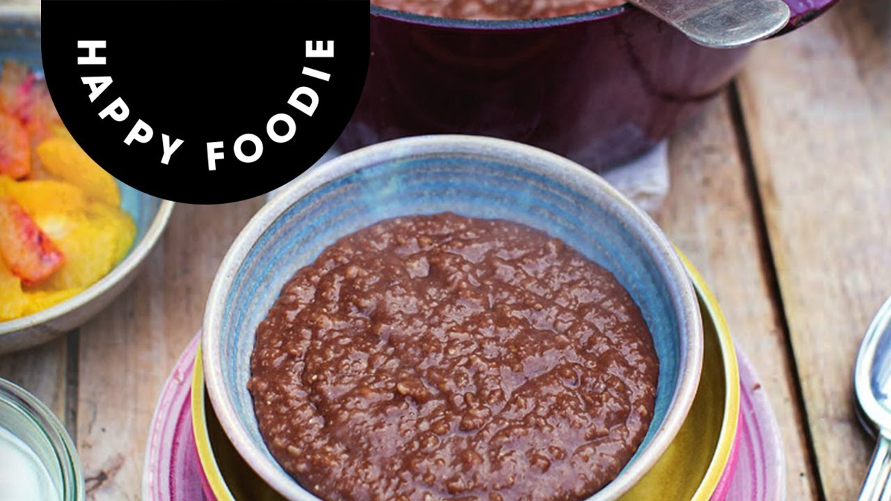 Jamie olivers chocolate porridge super food family classics youtube forumfinder Gallery
