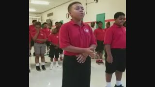 "Cardinal Shehan School Kids Sing ""Rise Up"""