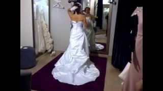 Свадебное платье американское