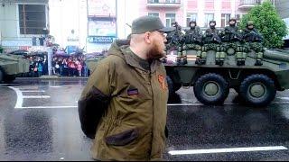 Донецк День победы 9 мая 2015 неофициальное видео