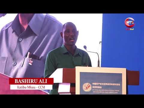 Dk: Bashiru Ali: Kugeuza vyama vya siasa mitambo ya kura kumeponza nchi nyingi Afrika