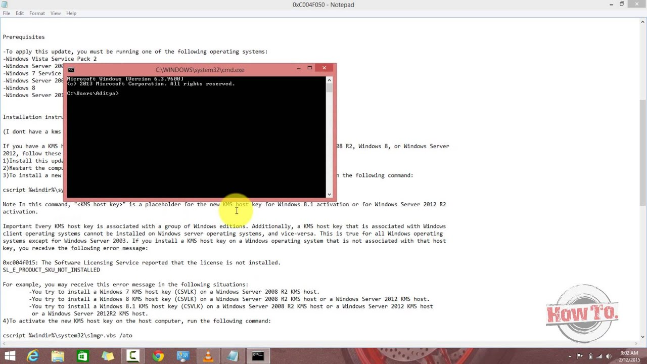 How to fix Error: 0xC004F050 The Software Licensing Service reported that  the product key is invalid