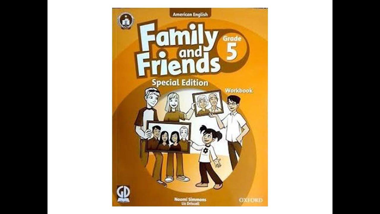 Family and friends grade 5 workbook unit 1 (Hướng dẫn giải)