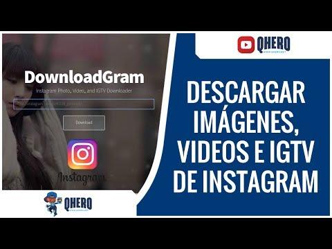 📲 DESCARGAR FOTOS, VIDEOS, IGTV y REELS de INSTAGRAM desde PC 😎 ¡DESCARGAS de INSTAGRAM ONLINE!