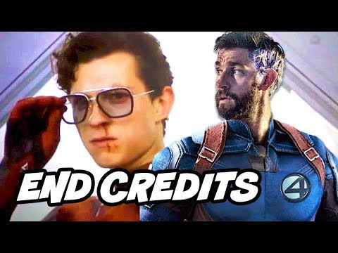 Spider-Man Far From Home End Credit Scene – Fantastic Four Easter Eggs Breakdown