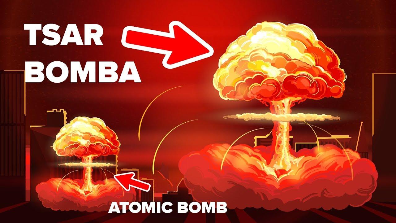 How Powerful Is The Tsar Bomba? - YouTube