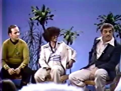 Nichelle Nichols & James Doohan 1977