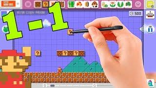 Recreating SMB 1-1 (Super Mario Maker)