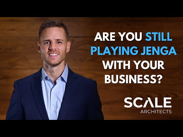 Are you still playing Jenga with your business