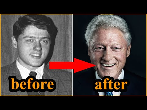 bill-clinton-|-transformation-from-1-to-73-years-old