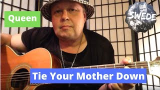 queen - tie your mother down - guitar lesson